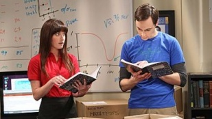 The Big Bang Theory 06x03 : The Higgs Boson Observation- Seriesaddict